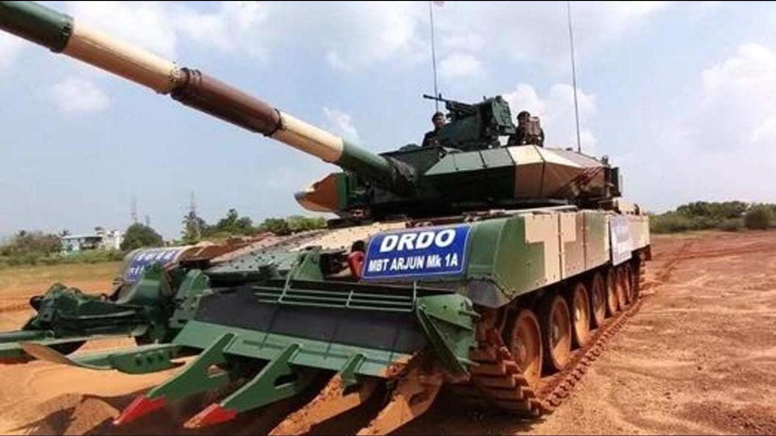 118 अर्जुन टैंक आर्डर