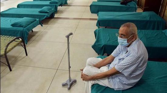 At 40, Chandigarh has the highest number of Covid positive patients, followed by Mohali with 35 and Panchkula with 20. (ANI File Photo)