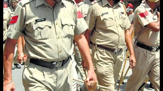 A CCTV footage shows the cop allegedly slapping Moga deputy mayor. (Representational/HT)