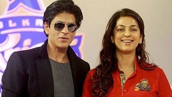 Juhi Chawla reveals Shah Rukh Khan once arrived to her party after she had gone to bed.