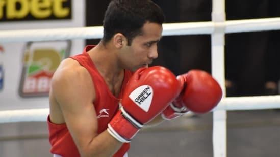 Boxer Deepak Bhoria.(File)