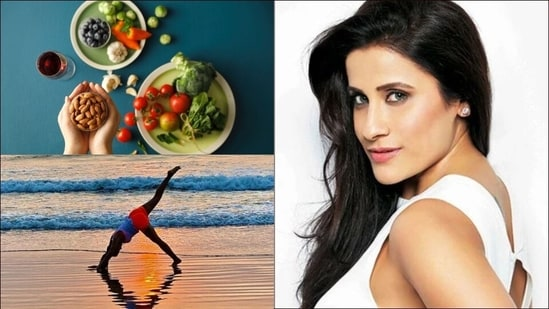 Incorporating a protein-rich diet along with daily workout(Yasmin Karachiwala)