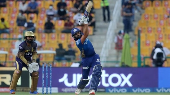 Rohit Sharma breached the 1K mark against KKR in IPL.