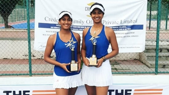 Sharmada Balu on the right.