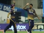 Sunil Narine celebrates a wicket(iplt20.com)