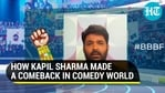 Kapil Sharma recounted his struggles in the comedy world