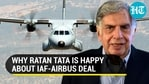 Ratan Tata reacts to Indian Air Force's <span class=