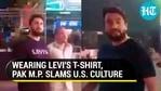 Pakistani MP Shehryar Afridi's New York video was shared by US journalist Joyce Karam (Twitter)