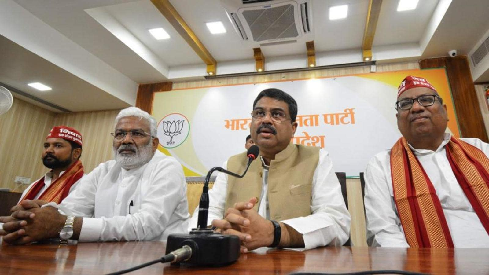 BJP open to alliances with other smaller parties in Uttar Pradesh, says Dharmendra Pradhan