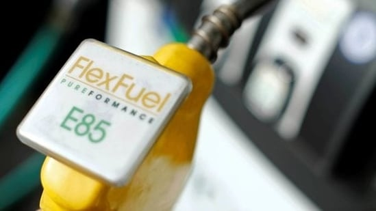 Most of these FFVs in Western countries run on E85, a blend of 85 per cent anhydrous ethanol and 15 per cent gasoline.(File Photo)