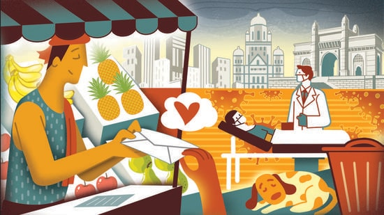 One just needs to look out for the instances of magic realism that take place in Mumbai, every day. (Illustration: Gajanan Nirphale)
