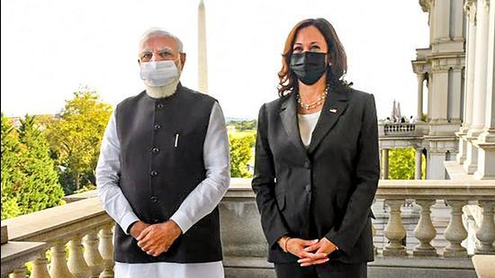 Kamala Harris slams Pakistan on terror in meeting with Narendra Modi    World News - Hindustan Times