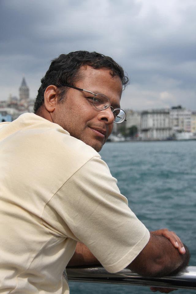 Jerry Pinto, author of Mehlli Gobhai; The Man Who Found Art Everywhere (Chirodeep Chaudhuri)
