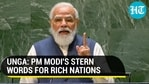 UNGA: PM MODI'S STERN WORDS FOR RICH NATIONS