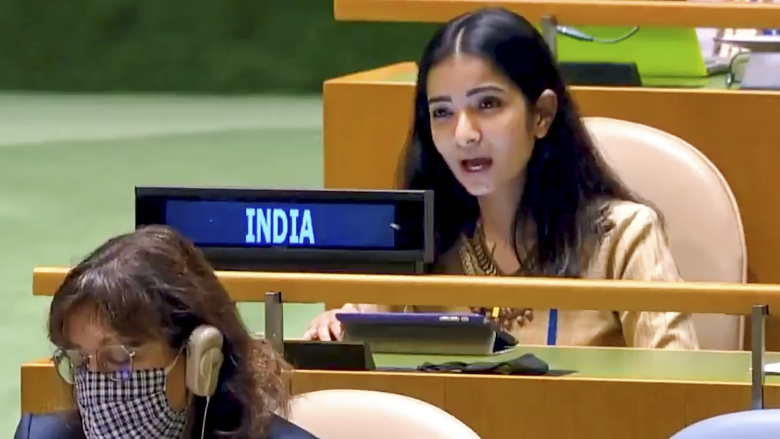 Sneha Dubey: Meet the IFS officer who gave fiery response to Imran Khan at  UN   Latest News India - Hindustan Times