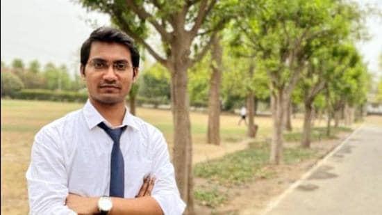 UPSC topper Shubham Kumar from Katihar. (ANI)
