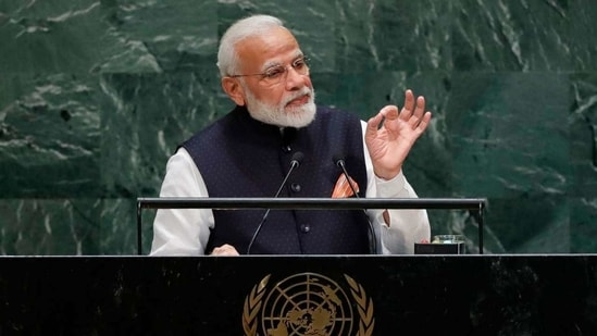 Prime Minister Narendra Modi's UNGA speech is expected to be live-streamed on his official YouTube channel.(File Photo )
