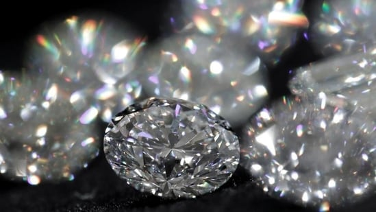 The raids were conducted at 23 premises located in connected to the diamond exporter.(Representative Photo/Reuters)