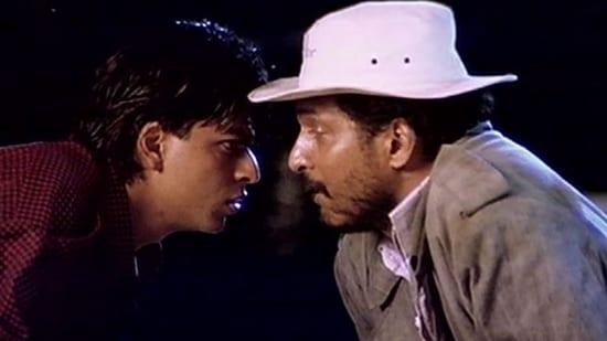 Shah Rukh Khan and Nana Patekar worked together in Raju Ban Gaya Gentleman.