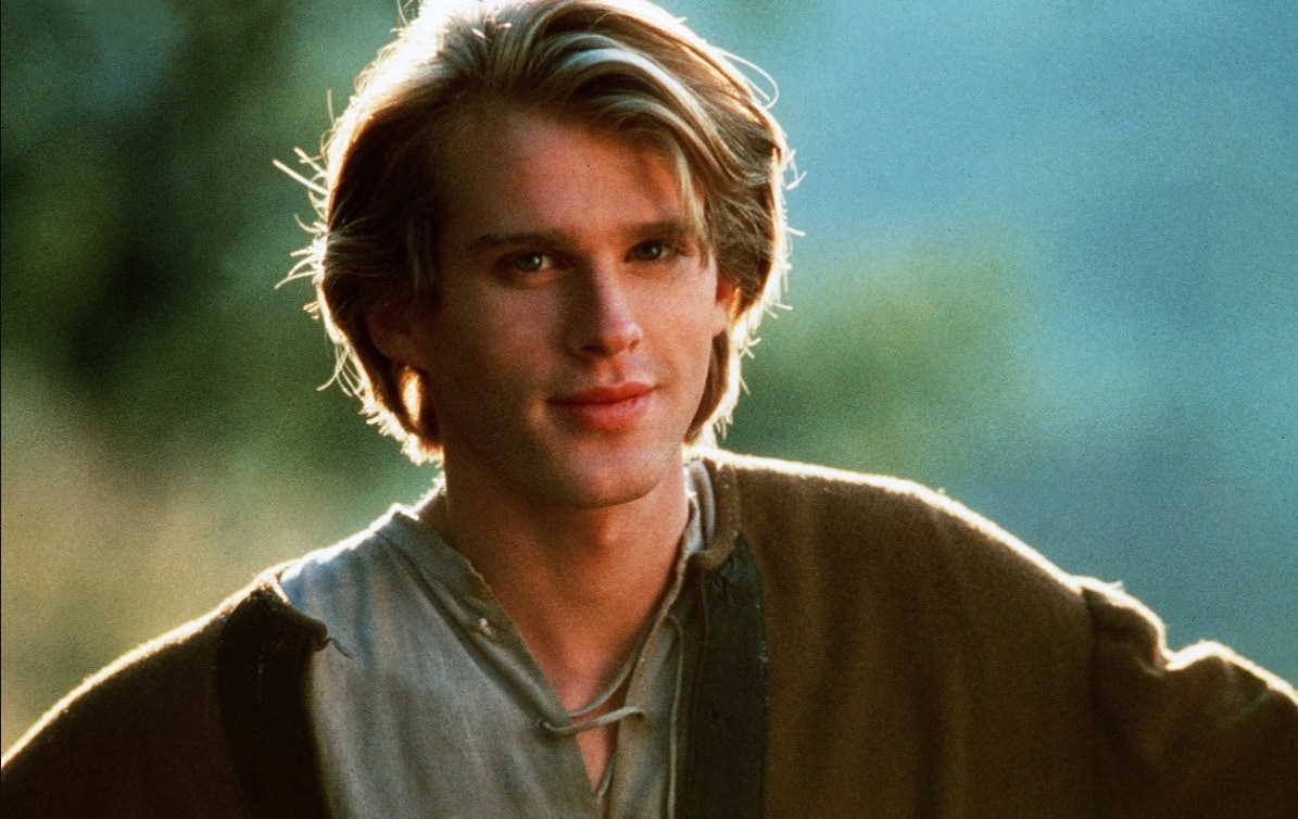 Cary Elwes in The Princess Bride (1987). In many ways, he picked up where Errol Flynn left off.