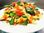 Recipe: Give your penne pasta a healthy twist with spring vegetables(Vikhroli Cucina)