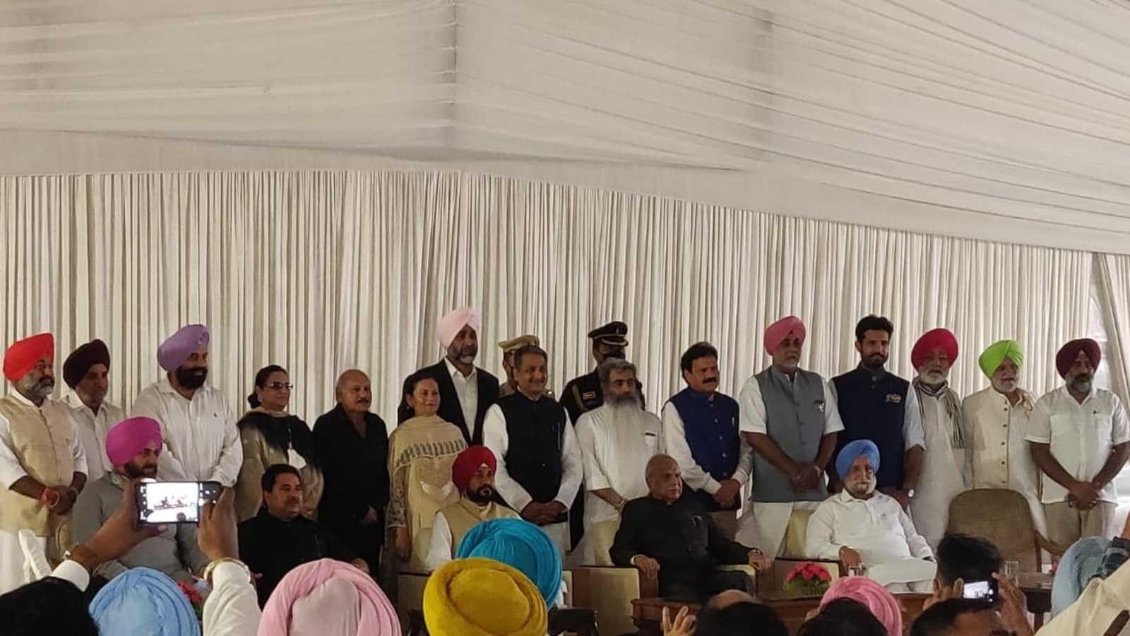 Punjab gets a new cabinet. Check portfolios of the new ministers