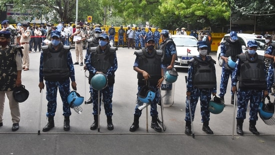The official said that the police are 'fully alert' and there will be preventive security measures during Bharat Bandh.(PTI)