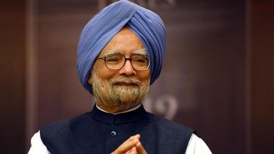 Former PM Dr Manmohan Singh (File Photo/HT)