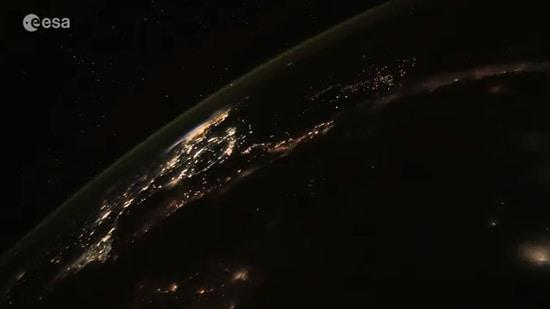 The video has left people in awe.(ESA)
