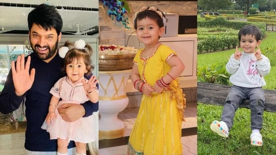 Kapil Sharma shares pictures of daughter Anayra on Daughters' Day.