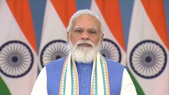 Prime Minister Narendra Modi to address Mann Ki Baat monthly broadcast on Sunday, September 26.(Twitter/@PMOIndia)
