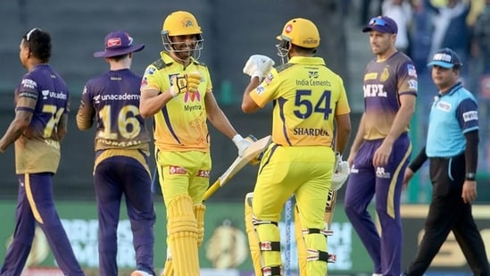 CSK vs KKR highlights, IPL 2021: Chennai Super Kings beat KKR by 2 wickets  to claim top spot on points table | Hindustan Times