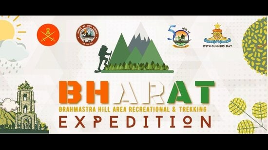 A poster of the Brahmastra Hill Area Recreational and Trekking Expedition by the Indian army. (Photo: Twitter)