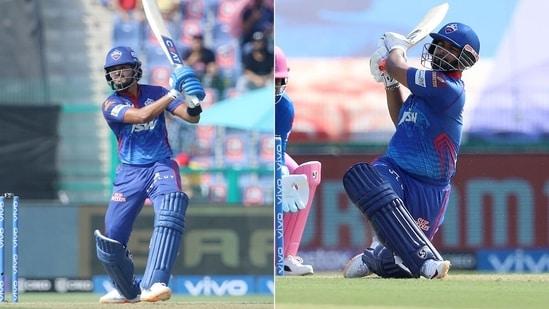 Shreyas Iyer and Rishabh Pant added a fifty-run stand.(IPL/Twitter)