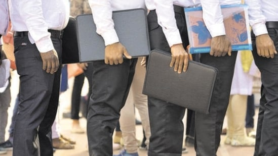 BECIL invites applications to fill data entry operator, other positions(Sanchit Khanna/HT PHOTO)