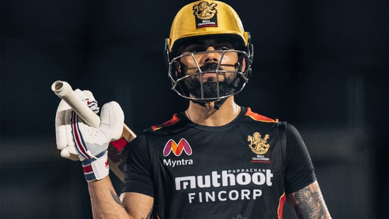 Virat Kohli will step down as RCB's captain at the end of IPL 2021.(RCB/Twitter)