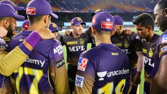 Eoin Morgan has been spot on with his decision-making as captain.(KKR/Twitter)