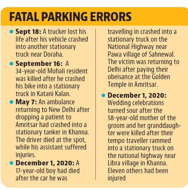 लुधियाना पुलिस ने भारतीय दंड संहिता की धारा 283 (सार्वजनिक मार्ग या नेविगेशन की लाइन में बाधा) के तहत ठीक से पार्क नहीं करने वाले लोगों के खिलाफ मामले दर्ज किए हैं।  (एचटी फोटो)