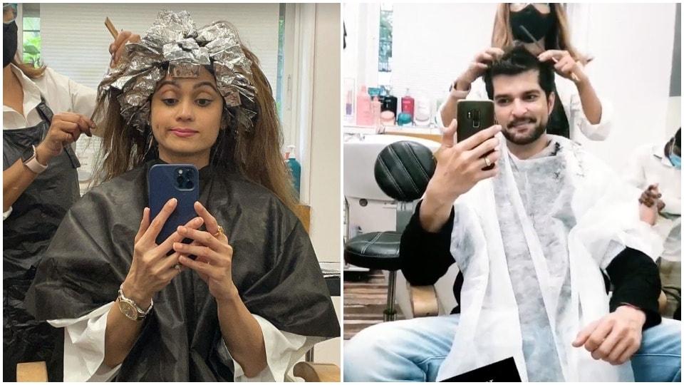 Raqesh Bapat makes Shamita Shetty burst for paparazzi after a salon date.  View |  Web series