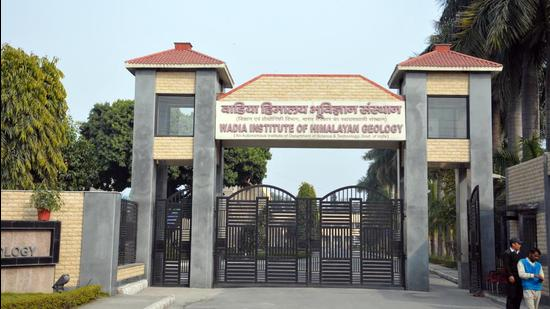 Wadia Institute of Himalayan Geology in Dehradun which carrying the six year project. (HT photo)