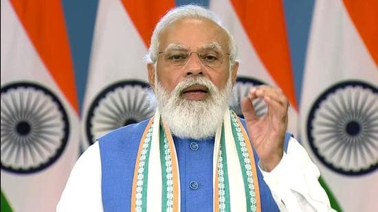Prime Minister Narendra Modi will launch Ayushman Bharat Digital Mission that looks to provide easier access to integrated healthcare for citizens. (ANI Photo)