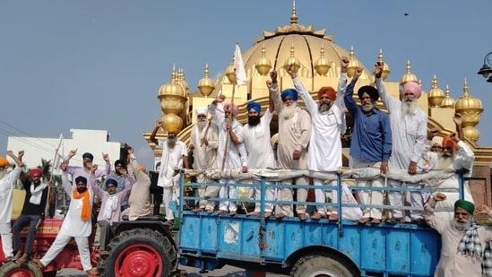 The Bharat Bandh has been called by the Samyukt Kisan Morcha (SKM).(Sameer Sehgal/HT Photo)