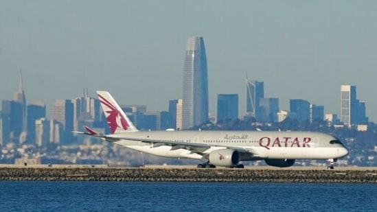 Qatar Airways announced on Monday, Sept. 27, 2021 that it suffered a more than $4 billion loss in revenues over the last year, as lockdowns triggered by the coronavirus pandemic slashed demand for air travel.(AP)