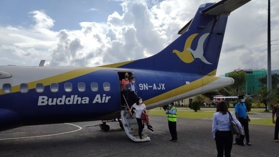 Pokhara gets travel boost as envoys from 10 countries visit Nepal's tourist hub(Twitter/AirBuddha)