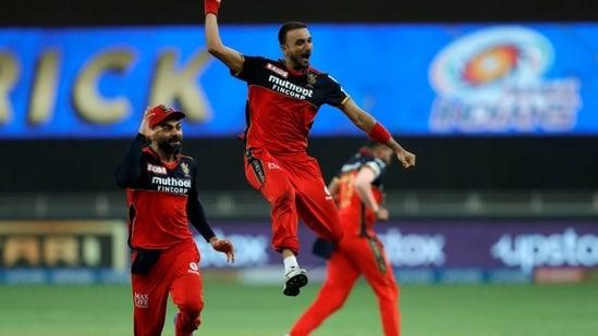 Harshal Patel claims his 1st IPL hat-trick(iplt20.com)