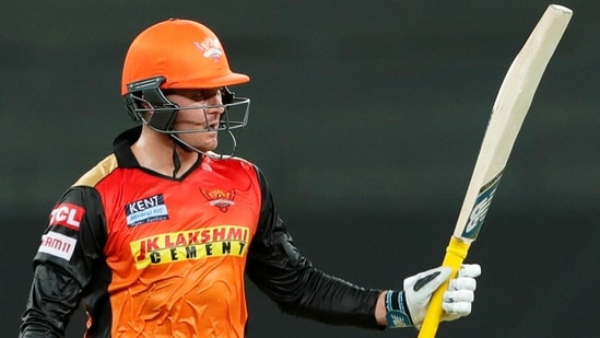 Jason Roy lands with a bang, takes SRH to win over RR(PTI)