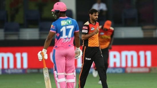 IPL 2021, SRH vs RR Live Score - Sunrisers Hyderabad vs Rajasthan Royals, Indian Premier League Match Today in Dubai International Stadium in the UAE.(BCCI/IPL)