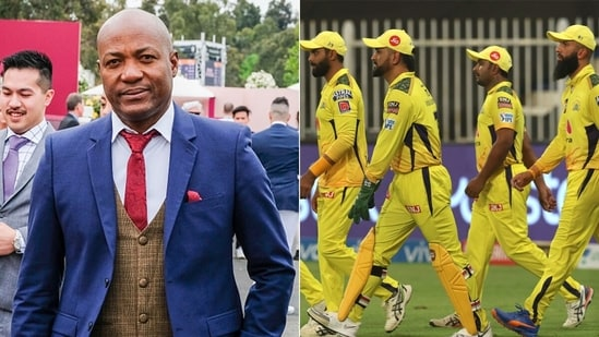 Brian Lara has suggested teams to target Chennai Super Kings' 'weakness'.(Getty/IPL Twitter)