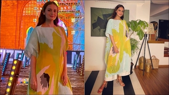 Loved Dia Mirza's powder blue pleated tunic at Global Citizen? Here's its cost