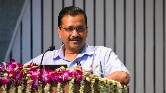 Delhi chief minister Arvind Kejriwal to begin his two-day trip to Punjab on September 29.(HT Photo )